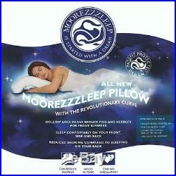 MooreZzzleep Anti Snore Memory Foam Pillow Snoring Relief with Revolutionary