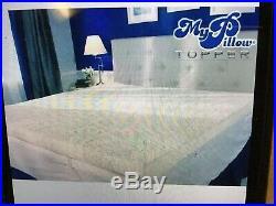 My Pillow Mattress Topper 3 Inch Top Pad Foam Comfort TWIN SIZE