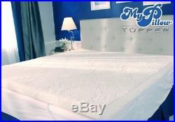 My Pillow Mattress Topper Queen Bed 3 Layer Memory Foam Support