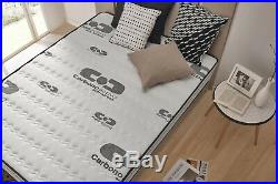 NATURALEX 7 Zone Memory Foam Mattress for Back Pain Extra Firm All Sizes