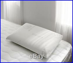 NATURALEX Aloe Vera Pillow Memory Foam + Cushioned Neck/Head Support