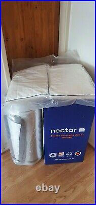 NECTAR MEMORY FOAM MATTRESS Double Size 135cm X190cm 4ft 6in +2 Premium Pillows