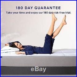NECTAR Queen Mattress + 2 Free Pillows Gel Memory Foam FREE SHIPPING