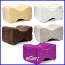 -NEW- 26X20X15cm Cool Gel Memory Foam Knee Leg Pillow Back Hip Pain Relief Thera
