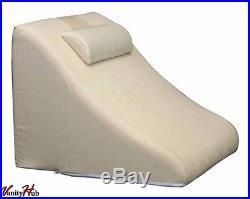 NEW Memory Foam Pillow Wedge System Comfort Sleep Adjustable Back Support Lumbar