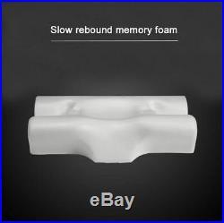 Neck Pillow Memory Foam Anti Wrinkle Anti Age Natural Back Side Sleeping Pillow