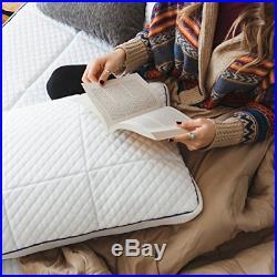 Nectar King Mattress + 2 Free Pillows Gel Memory Foam CertiPUR-US Certified