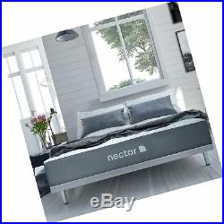 Nectar Queen Mattress + 2 Free Pillows Gel Memory Foam CertiPUR- US Certi