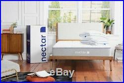 Nectar Sleep Mattress with pillows Double Size 135cm x 190cm x 25cm Brand new