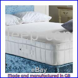 New! 5ft Kingsize ORTHO Memory Foam Box-Pillow Top Mattress for Dual Support