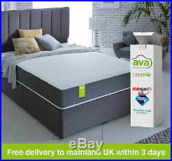 New Ava Mattress In A Box C/w Free Duvet, Pillows & Protector
