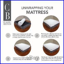 New California King Cool Gel Ultimate 14-Inch Gel Memory Foam Mattress with Pillow