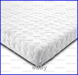New Cheap Memory Foam & Reflex 5 Zone Circle Design Zip Cover +2 Free Pillows