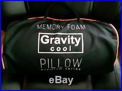 New Gravity Cool Memory Foam Pillow Ergonomic Premium Series