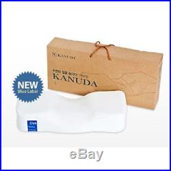 New Kanuda Pillow Blue Label Slow Rebound Memory Foam Cervical Neck Pain Care
