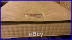 New Luxury Pillow Top Memory Foam Mattress, Double 4ft6