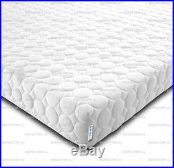 New Memory Foam & Reflex 5 Zone Circle Design With Zip Cover + 2 Free Pillows