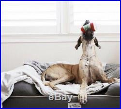 New PetFusion Ultimate Dog Bed & Lounge. (Jumbo XX Large Gray, 50 x 40 x 13)