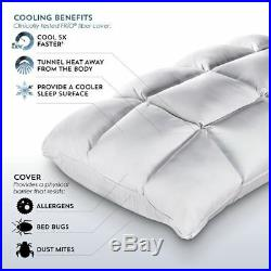 New Purecare Sub-0° Softcell Chill Soothe Me Reversible Hybrid Queen Pillow