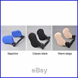 New UK Car Seat Headrest Pad Memory Foam Pillow Head Neck Rest Support Cushion