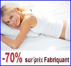 Nuits d'or Mattress 140x200 Memory foam 21 Cm Very Firm + Pillow Memory