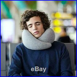 OSTRICHPILLOW GO Airplane Neck Support Travel Pillow Memory Foam EL0193