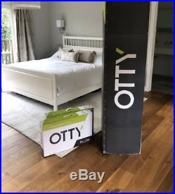 OTTY King Size 2000 Pocket Sprung & 2 Deluxe Pillows (BNIB)