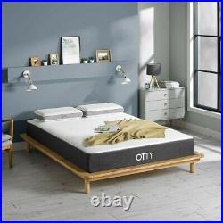 OTTY PURE Bamboo & Charcoal Hybrid & Memory Foam Mattress (2 Pillows)