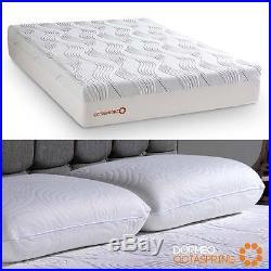 Octaspring 8500 Memory Foam King Mattress + 2 True Evolution Memory Foam Pillows