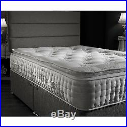 Opulence 10000 Pocket Spring Side Stitch Pillow Top Mattress With Memory Foam