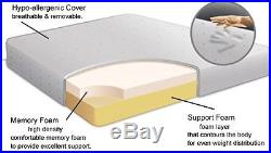 Orthopaedic Reflex Memory All Foam Mattress 5+1 + Free Pillows
