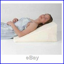Orthopedic Bed Wedge Firm Lumbar Support Specialty Medical Pillow, White