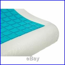 Orthopedic Memory Foam Contour Cervical Pillow Gel Cooling Firm Head Neck Back