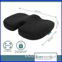 Orthopedic coccyx seat cushion Gel & memory foam pillow Sciatica/Hemorrhoid/Pain