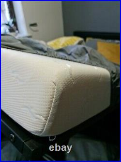 Ottoman Bed Small Double (with memory foam mattress + 1 pillow)