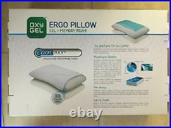 Oxy Gel Ergo Pillow Gel + Memory Foam