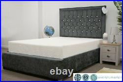 PANDAMHOME Azure Memory Foam Mattress + FREE Fitted Bed Sheet & Pillow Case Pair