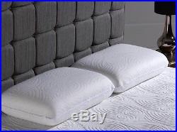 Pair Of Dormeo Octaspring True Evolution Pillow Memory Foam Washable Cover