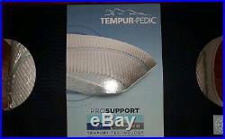 Pair of Tempur-Pedic Tempur Pro-support Queen Pillow