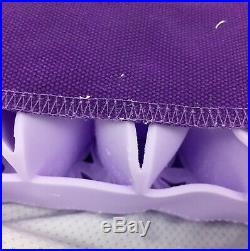 Pair of Two (2) Purple Pillow Complete With Bag and Pillow Cover Neck Support