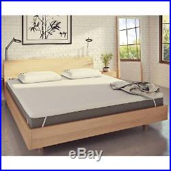 Panda Memory Foam King Size Bamboo Mattress Topper for Duvets and Pillows