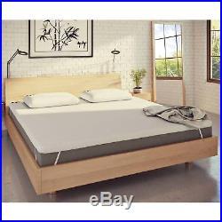 Panda Memory Foam King Size Bamboo Mattress Topper for Duvets and Pillows