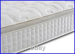 Pillow Top Gold 1000 Pocket Sprung Memory Foam Orthopeadic Mattress