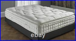 Pillow Top HYBRID 5000 RESPONSIVE MEMORY FOAM MATTRESS 4FT 6 DOUBLE 5FT KING
