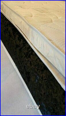 Pillow Top Luxury Deep Memory Mattress. Cool Touch. Double Single King 3ft6 4ft
