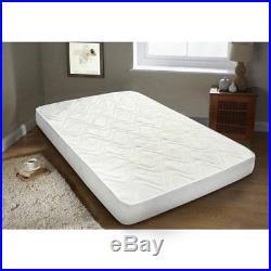 Pocket Sprung Pillow Top Mattress 3ft single 4ft6 double 5ft king Memory Foam UK