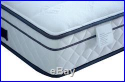Pocket sprung, Visco elastic memory foam mattress. Pillow topped, spring matress