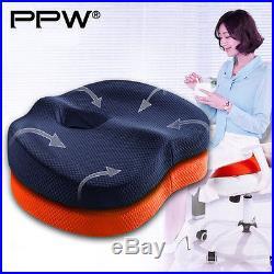 Ppw 4034Cm7.5Cm Smart Coccyx Orthopedic Memory Foam Seat Cushion For Chair Car