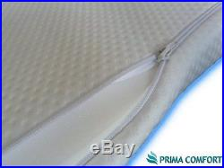 Prima Comfort Memory Foam Portable Travel Mattress Topper and pillow- The