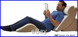 PureFit Adjustable Bed Wedge System Pillow Set with Memory Foam